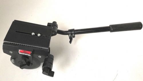 MANFROTTO MN 116 MK3 HEAVY DUTY VIDEO FLUID HEAD WITH QUICK RELEASE PLATE WITH 3